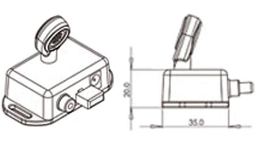 SK10575 Marine Bridge Microphone Drawing